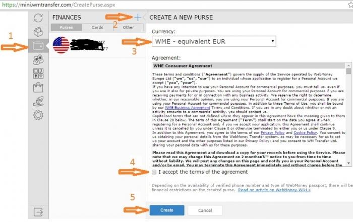 آموزش ساخت کیف پول وب مانی,برای آنکه کیف پول وب مانی بسازید باید پیش ازآن حساب مینی خود را ساخته باشید،اگر اینکار را نکرده اید اول حساب خود را بسازید